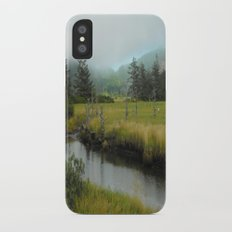 Mystery In Mist Slim Case iPhone X