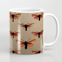 In This Direction (Brown Background) Coffee Mug
