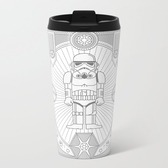 Stormtrooper Jam Metal Travel Mug