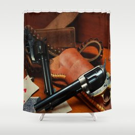 45 Colt Shower Curtain