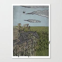 Scarcity on Earth Canvas Print