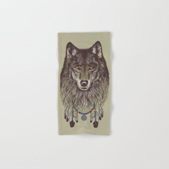 Wind Catcher Wolf Hand & Bath Towel