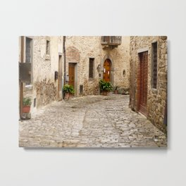 In Montefioralle Metal Print