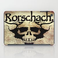 rorschach iPad Cases featuring Rorschach by Dominic Mastracchio