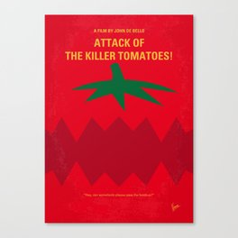 No499 My Attack of the Killer Tomatoes mmp Canvas Print