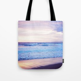 Purple Sunset over Hermosa Beach, Los Angeles  Tote Bag