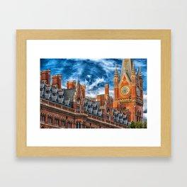 London Architecture Framed Art Print