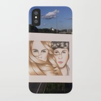paper towns iPhone & iPod Cases featuring Paper Towns Drawing by dancing_papers