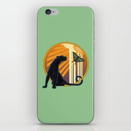 Jaguar Plain Art Deco iPhone Skin