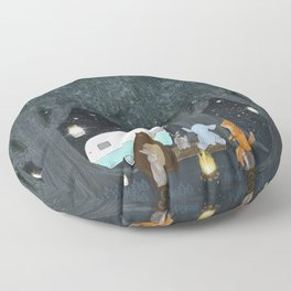 camping time Floor Pillow