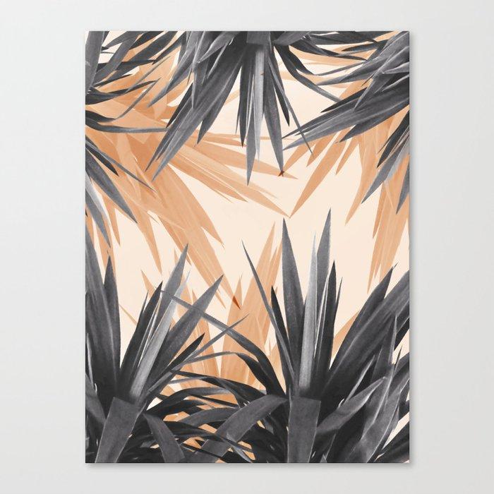 Orange Tropics Canvas Print