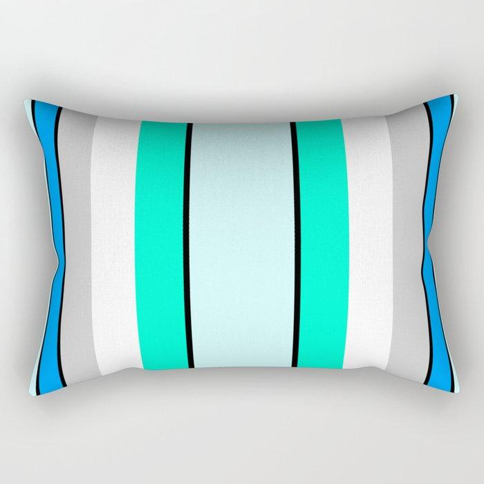 Aquafresh Curtains Rectangular Pillow