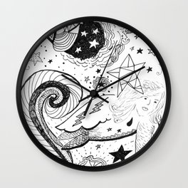 Cosmic Lady Bird Wall Clock