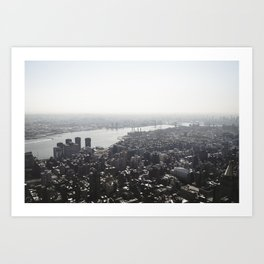 East River Art Print