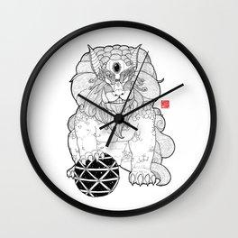 The First Shisa Wall Clock