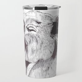 Exhausted Koala Travel Mug