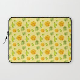 Tropical, fresh and citric fruits Laptop Sleeve