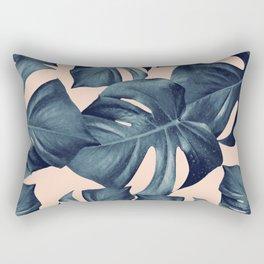 Monstera Leaves Pattern #6 #tropical #decor #art #society6 Rectangular Pillow
