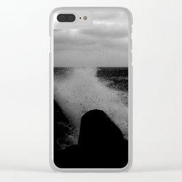 sea03 Clear iPhone Case