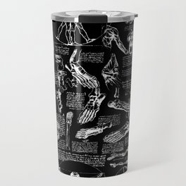 Da Vinci's Anatomy Sketchbook Travel Mug