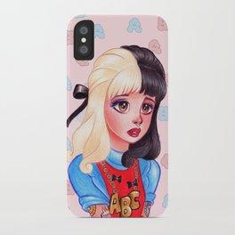 Alphabet Girl iPhone Case