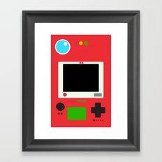 Pokedex Framed Art Print