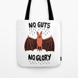 No Guts No Glory - Bat Tote Bag