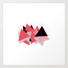 Triangle U185 Art Print