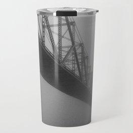 The Bridge and the Mist Travel Mug