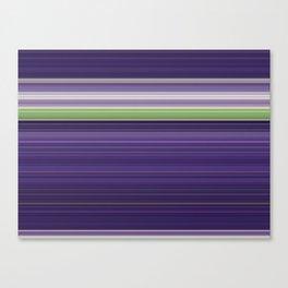 Sitting Figure - Swipe Canvas Print