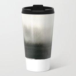 Landscape in white Travel Mug