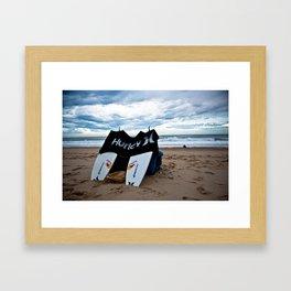 Hurley in Hossegor, France, World Tour of Surf Framed Art Print