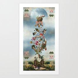 TULPA Art Print