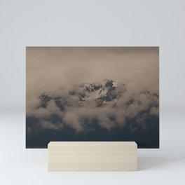 Alaska Mountain Shivers. Mini Art Print