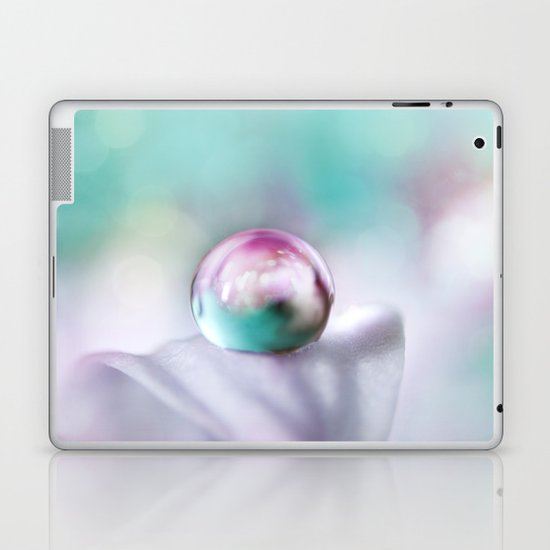 Turquoise Droplet Laptop & iPad Skin