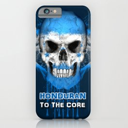 To The Core Collection: Honduras iPhone Case