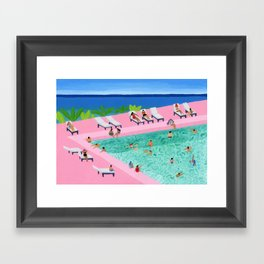 Seaview Framed Art Print