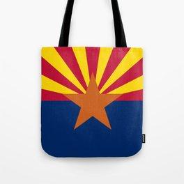 Arizona: Arizona State Flag Tote Bag