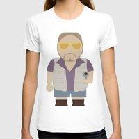 big lebowski T-shirts featuring Walt - Big Lebowski by Moose Art