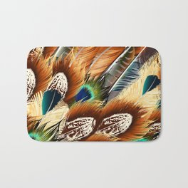 So feathers fashion Bath Mat