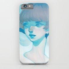 visage - blue iPhone 6 Slim Case