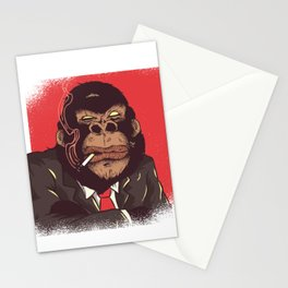 Gorilla Abstract Stationery Cards