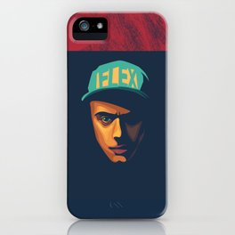 logic (Rapper) Face Illustration iPhone Case