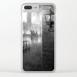 Sunday Stroll Clear iPhone Case