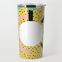 Memphis Style N°3 Travel Mug