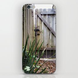 Wooden Fence iPhone Skin