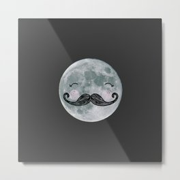 mr.moon Metal Print
