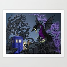 And Now You Will Deal with ME, O' Doctor Art Print
