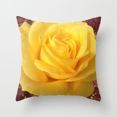 #Forever32 rose  Throw Pillow