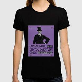 Retro Victorian / Edwardian  – Did You Spill My Pint? T-shirt